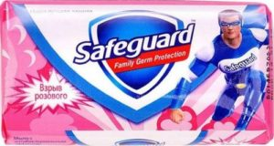 SAFEGUARD Мыло туалетное Взрыв розового 90гр