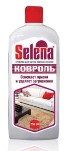 Selena КОВРОЛЬ средство для чистки ковров и мягкой мебели 250мл