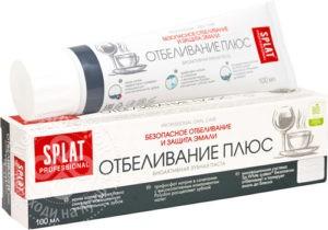 Splat Professional Отбеливание Плюс зубная паста 100мл