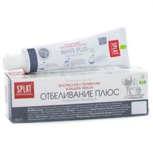 Splat Professional Отбеливание Плюс зубная паста 40мл