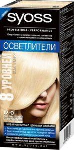 Syoss Краска для волос 12-0 Интенсивный Осветлитель 50мл