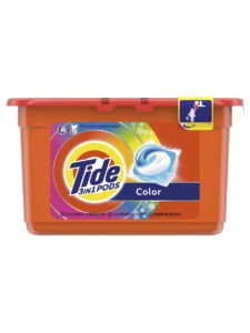 TIDE Средство моющее в растворимых капсулах Color 12шт