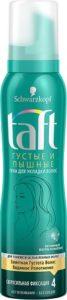 Taft Пена для волос Густые и пышные Foam Fullness 150мл