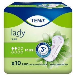 Tena Lady урологические прокладки Slim mini 10шт