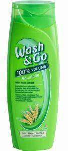 Wash&Go Шампунь с Экстрактом Дрожжей 400мл