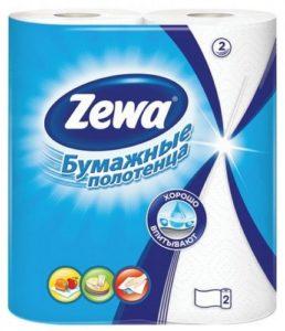 Zewa Бумажные полотенца Универсальные 2х слойные 2шт