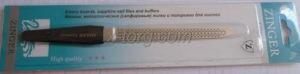 Zinger Пилочка для ногтей с дырочками