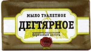 АИСТ Мыло Туалетное Дегтярное 140гр