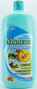 Аромика Хозяйственное Домашнее Жидкое мыло 65% Морские минералы 1100мл
