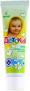 Весна Крем Детский с Экстрактом Ромашки 45мл