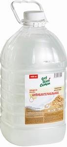 Для Всей Семьи Жидкое мыло Антибактериальное Овсяное Молоко 5л