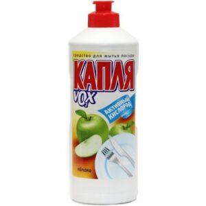 Капля средство для мытья посуды Универсал Яблоко 500мл