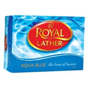 Туалетное мыло ROYAL LATHER AQUA BLUE 150гр