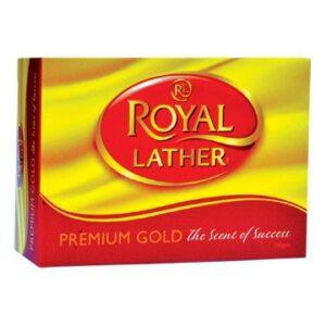 Туалетное мыло ROYAL LATHER PREMIUM GOLD 150гр
