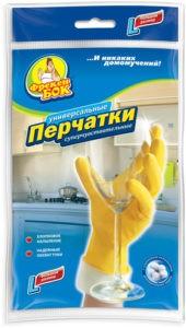 Фрекен Бок перчатки L резиновые универсальные 1шт