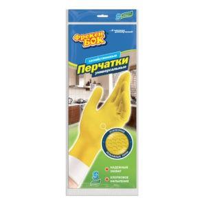 Фрекен Бок перчатки S резиновые универсальные 1шт