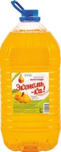Экономь-ка Средство для мытья посуды Сладкий Апельсин 5л