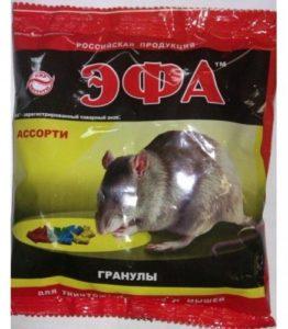 Эфа зерно от Грызунов Ассорти 150гр