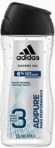 ADIDAS Men Гель для душа Body-Hair-Face Adipure 250мл