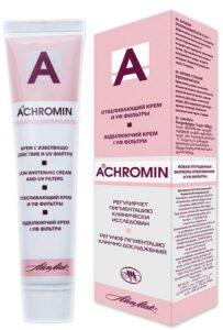 Achromin Отбеливающий крем для лица 45мл