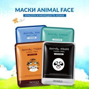 BioAqua Animal mask Тканевая маска для лица(tiger, sheep, dog) 30мл