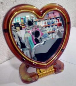 Chic De Mirror Зеркало на подставке Сердце
