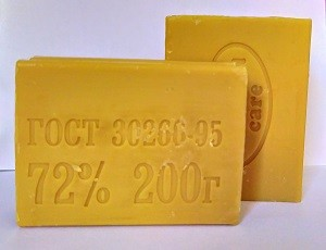 Econom Care Хозяйственное твёрдое мыло 72% 200гр