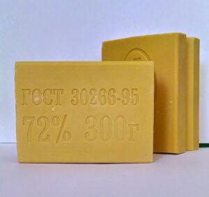 Econom Care Хозяйственное твёрдое мыло 72% 300гр
