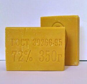 Econom Care Хозяйственное твёрдое мыло 72% 350гр