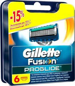 Gillette Fusion ProGlide Сменные Кассеты для бритья 6шт