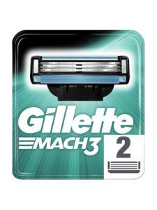 Gillette Mach3 Сменные кассеты для бритья 2 шт
