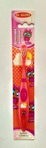 Gloss Зубная щётка детская улыбка  для девочек