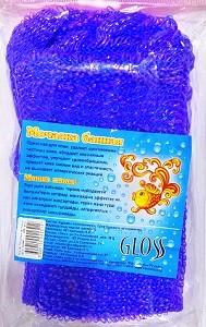 Gloss Мочалка банная Мини 1шт