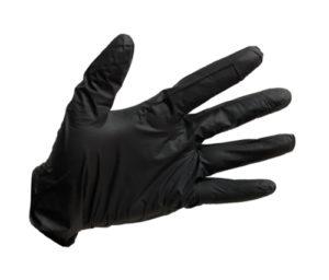 Gloves Перчатки Виниловые Чёрные 1шт