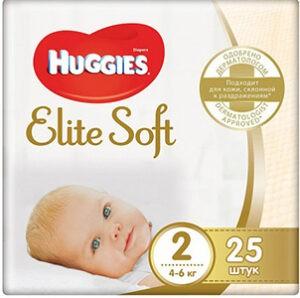 Huggies подгузники Elite Soft Convy №2 25шт