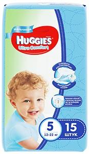 Huggies подгузники Ultra Comfort Convy №5 Boy15шт