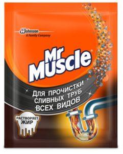 Mr.Muscle Средство для прочистки труб пакет 70гр