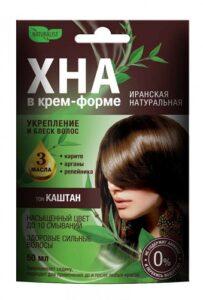 Naturalist Крем-форте для волос Иранская Натуральная Каштан 50мл