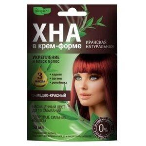 Naturalist Крем-форте для волос Иранская Натуральная Медно-красный 50мл