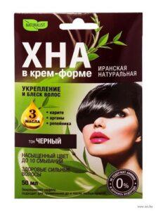 Naturalist Крем-форте для волос Иранская Натуральная Чёрный 50мл