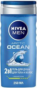 Nivea Men Гель для душа Тела и Волос 2в1 ARCTIC OCEAN 250мл