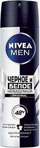 Nivea Men Дезодорант Спрей Невидимый для чёрного и белого 150мл