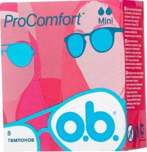O.b. ProComfort Тампоны Mini 8шт