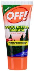 OFF Крем от комаров Экстра Защита 50мл