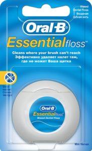 ORAL B Зубная Нить Essential Sloss 50м
