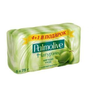 Palmolive мыло Натурэль Мультипак Молоко и Олива 5х70гр
