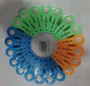 Pin Ge Прищепки пластиковые Цветные