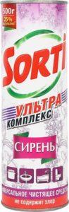 Sorti Универсальное чистящее средство Сирень 500гр