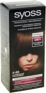 Syoss Краска для волос 4-88 Карамельно Каштановый 50мл