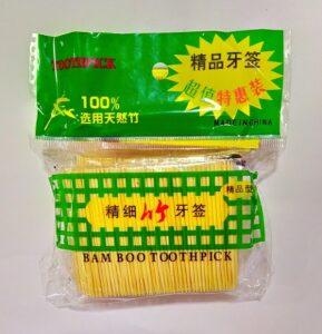 Toothpick Зубочистки банка 100шт